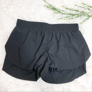 Lululemon- Women's Black Lined Shorts - Size 10